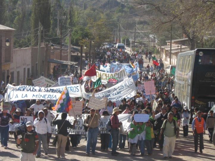 MARCHA DE JUELLA A TILCARA EN 2009 - Archivo