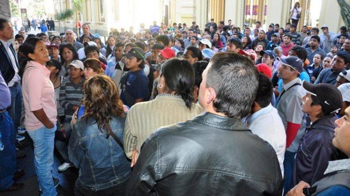La presencia de Milagro Sala en el diario Pregón es uno de los tantos casos de presiones a la prensa que fueron denunciados.