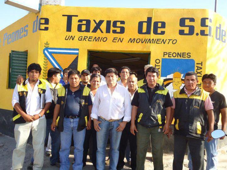 sindicato peones taxis