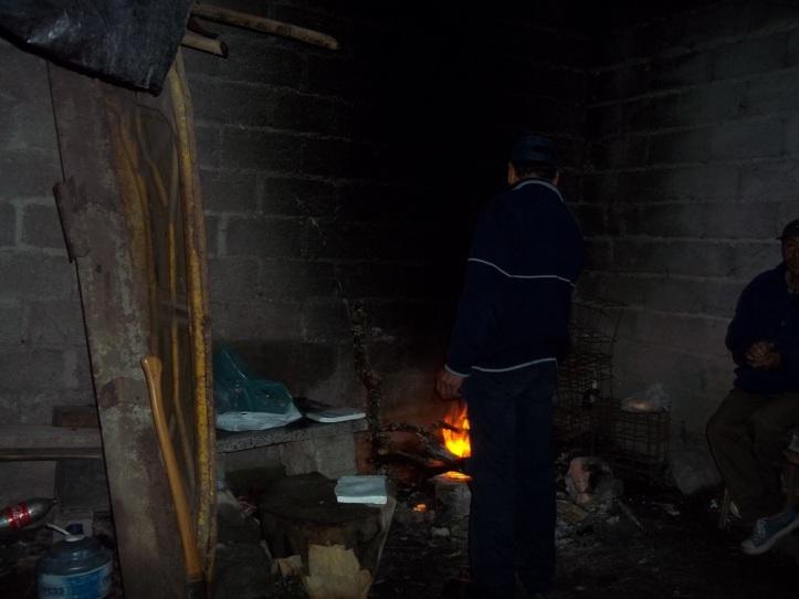 En estas condiciones trabajan los municipales de Yala.