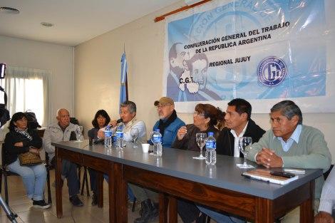 El Frente Estatal y la CGT de Jujuy se unen paraluchar