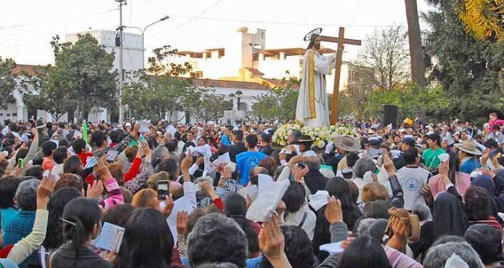 El Santísimo Salvador. Foto Juan Fernández