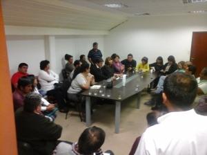 Reunión del FGE con Cosentini
