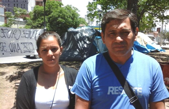 Mónica Cerda y Miguel Estévez.