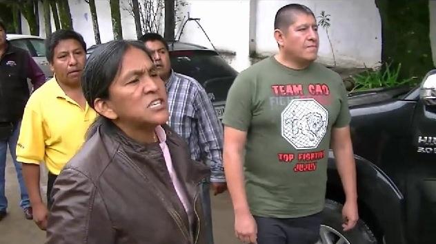 """Sala, en una de sus últimas """"visitas"""" al Concejo Deliberante, donde fue a presionar por el boleto  y se insultó con taxistas."""