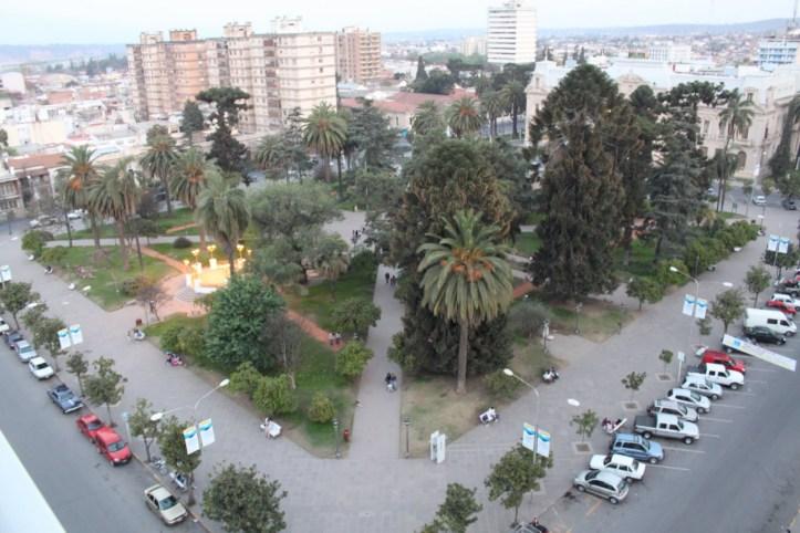 Plaza Belgrano de San Salvador de Jujuy
