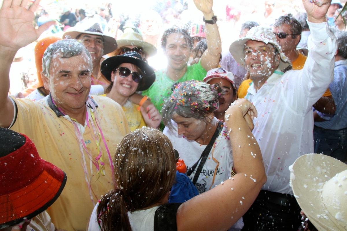 Con el desentierro del carnaval, Morales y Massa ratificaron en Jujuy su acuerdo político electoral