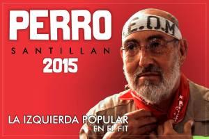 perro santillan candidato elecciones 2015