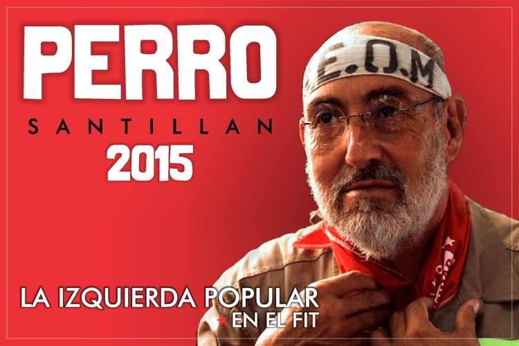 Afiche difundido por el Movimiento Popular la Dignidad