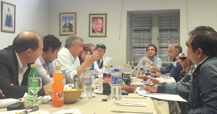 Gerardo Morales con los diputados provinciales de la UCR