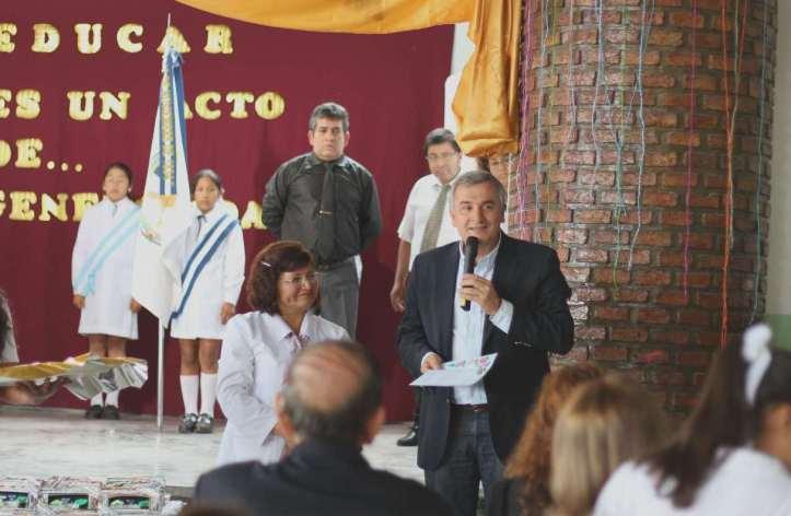 """El senador el acto del 92 aniversario de la  Escuela Nº 247 """"Nicolás Avellaneda"""""""