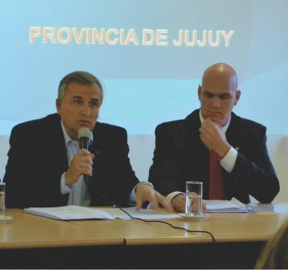 Gerardo Morales y Ekel Meyer