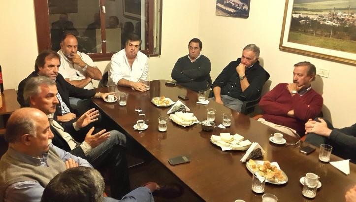 Morales y los industriales de Jujuy
