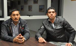 Quispe y Cabrera, los organizadores - Foto El Tribuno