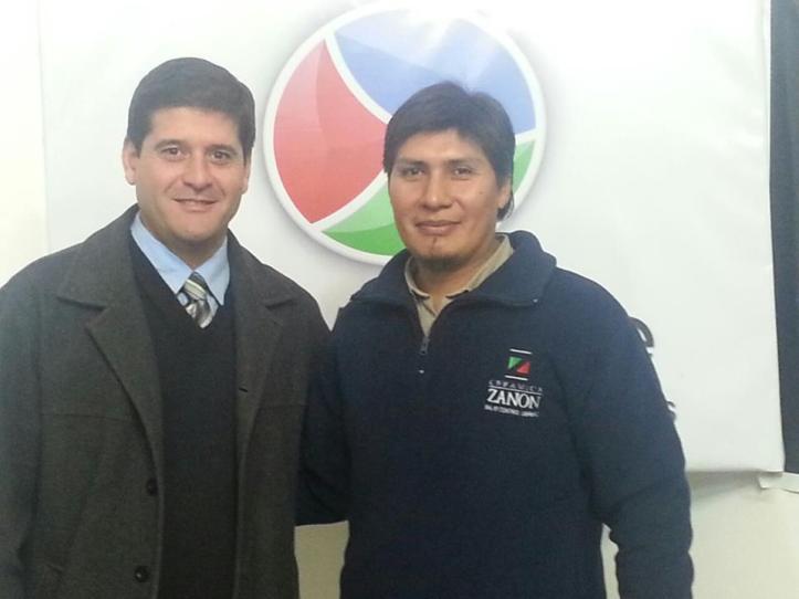 Dago Pubzolu y Alejandro Vilca
