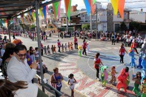 Desfiles de jardines de infantes - Archivo (Crédito foto: Prensa Municipal)