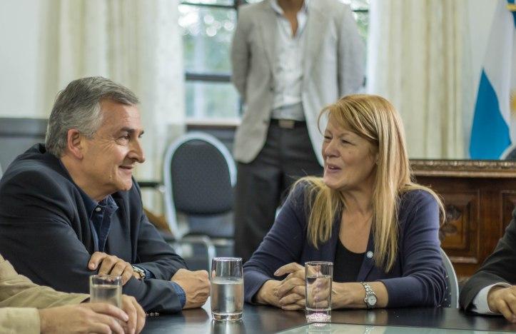 Gerardo Morales y Margarita Stolbizer, en Jujuy