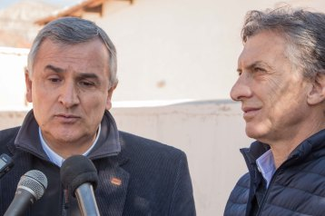 Morales y Macri