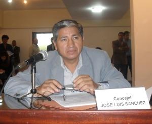 Concejal Sánchez