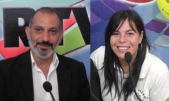 Juana Leiva y Marcelo Pastore. Esposos y periodistas amenazados