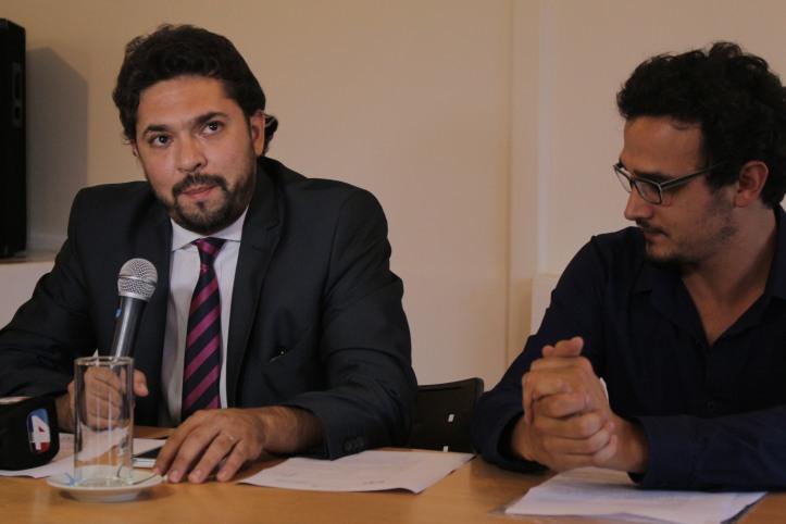 Luciano Rivas y Gastón Morales
