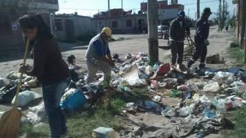 Personal municipal limpia