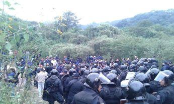 Toma de tierras en Jujuy