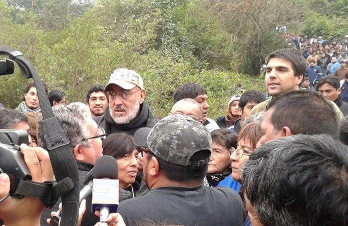 Santillán y Canchi hablan con el ministro Cosentini