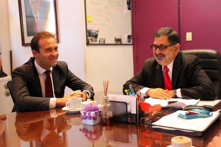 Chuli Jorge con Rafael Trannoy