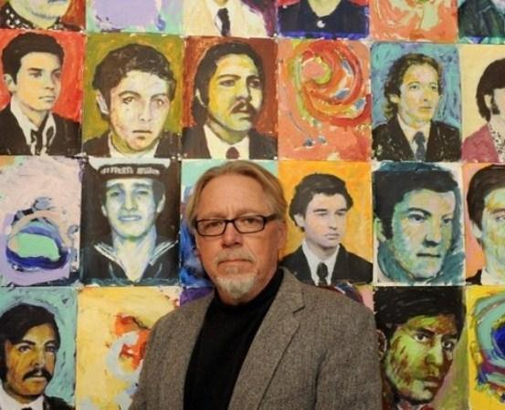 Brian Carlson y sus retratos de los desaparecidos.