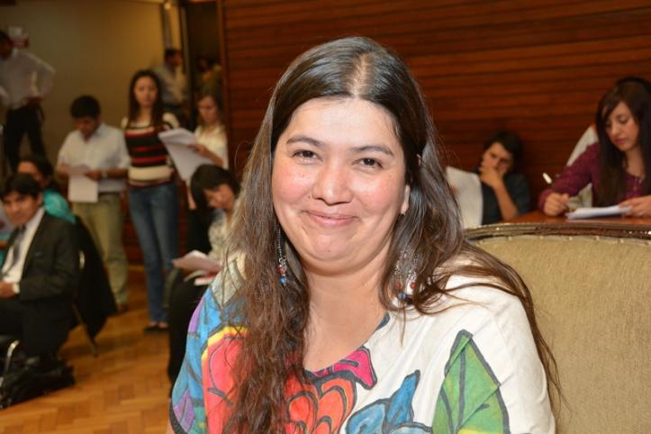 Diputada Alejandra Cejas