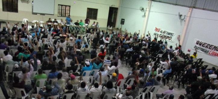 La asamblea del SOEAIL