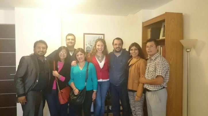 Miembros de la asociación de profesionales.