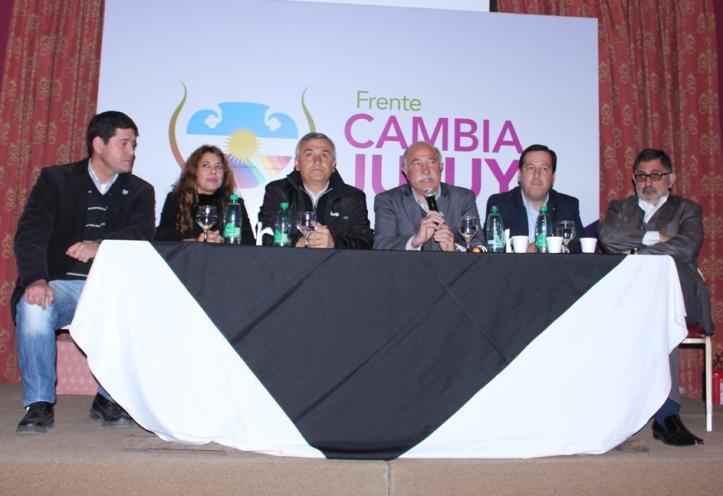 Gerardo Morales presentó a los candidatos
