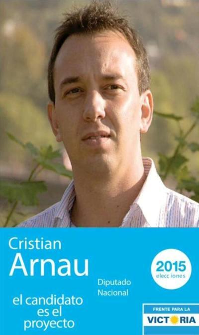 El camporista Cristian Arnau hace campaña a diputado nacional  y se da tiempo para dirigir el PAMI Jujuy.