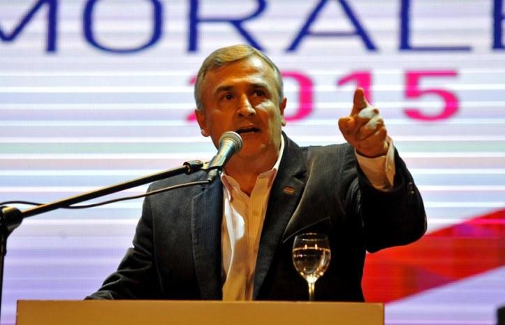 Gerardo Morales, en el lanzamiento del Frente Cambia Jujuy. (Crédito foto: PrensaJujuy)