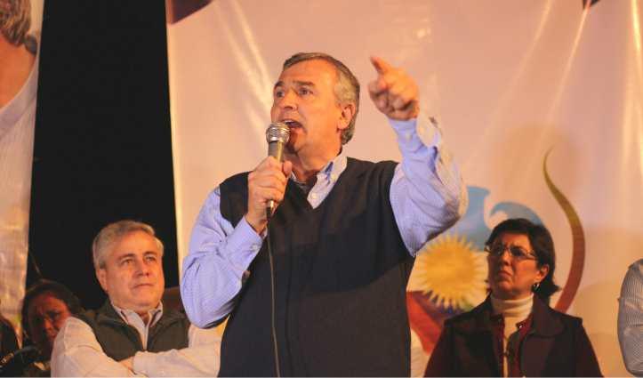Morales, en el acto en Santa Clara