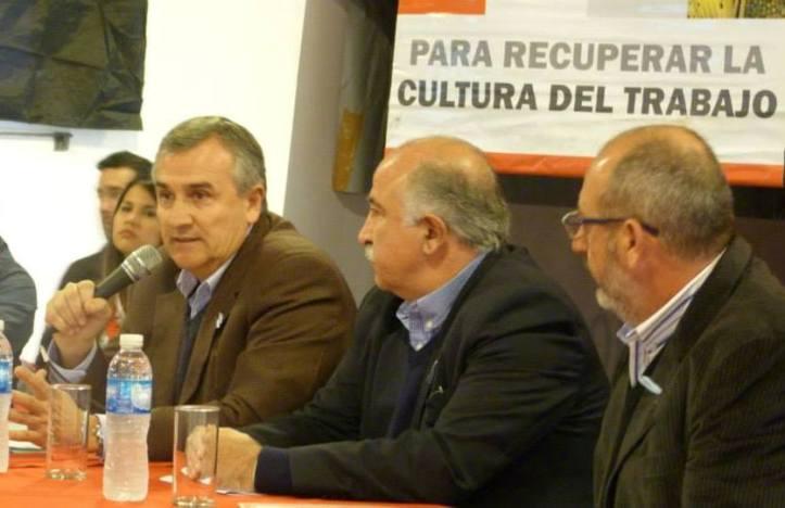 Gerardo Morales cerrará la jornada. Estarán los dirigentes peronistas Daza y Cabana Fusz.