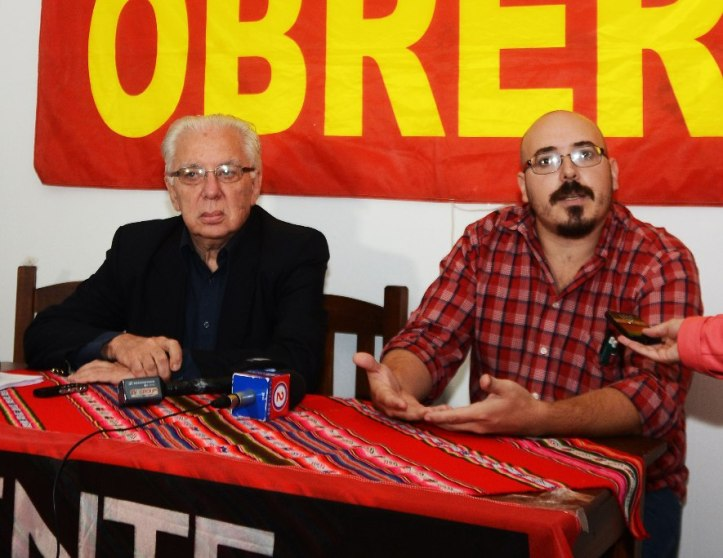 Iñaki Aldasoro y Jorge Altamira