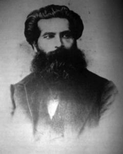Leandro Alem, en sus años de juventud