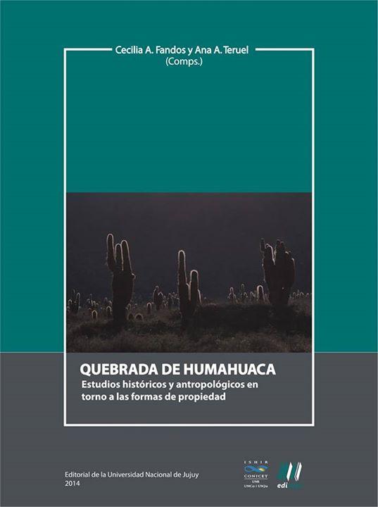 libro quebrada de humahuaca cecilia fandos