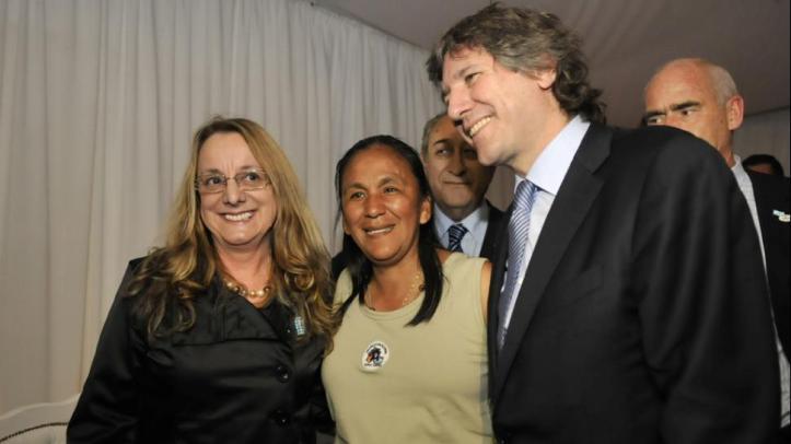 Fellner no quiso darle lugar en las listas del FPV de Jujuy. Pero ella consiguió meterse en la lista de distrito único.