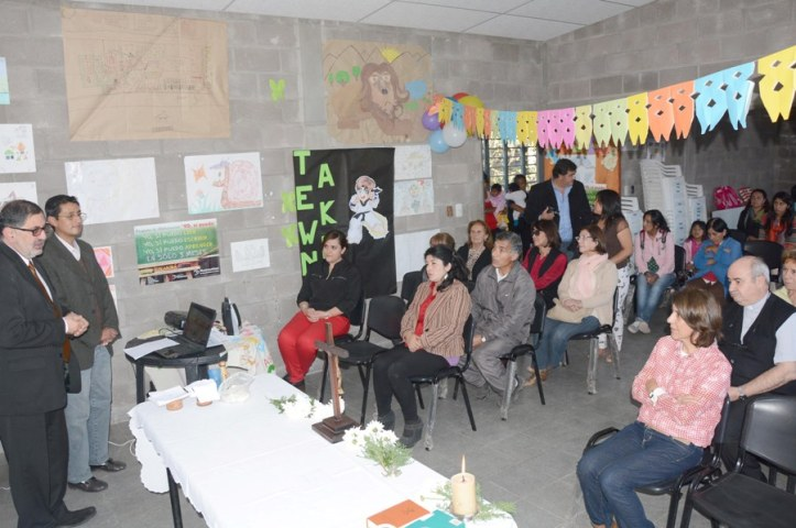 El acto celebratorio, en el CIC Alberdi