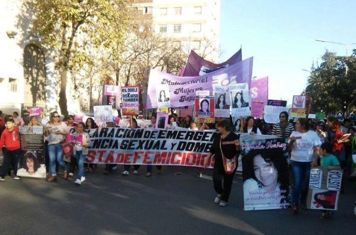 La marcha del 3 de junio, en Jujuy