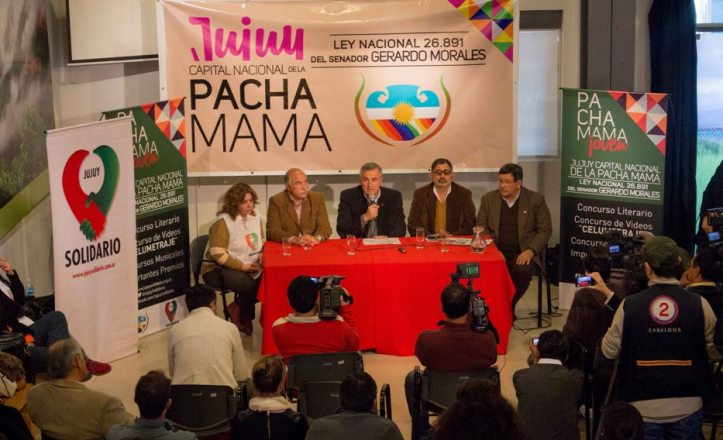 Gerardo Morales, Mario Fiad y Chuli Jorge encabezaron la presentación