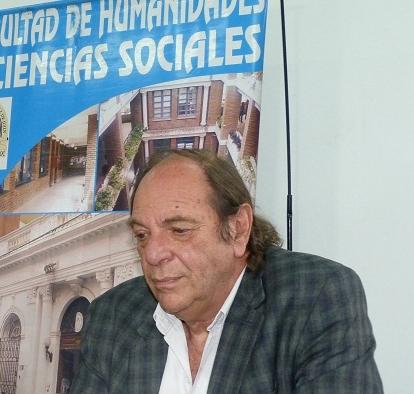 Ricardo Slavutsky, decano de Humanidades.