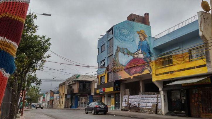 La Tejedora, una obra que embellece y da vida al centro de San Salvador de Jujuy