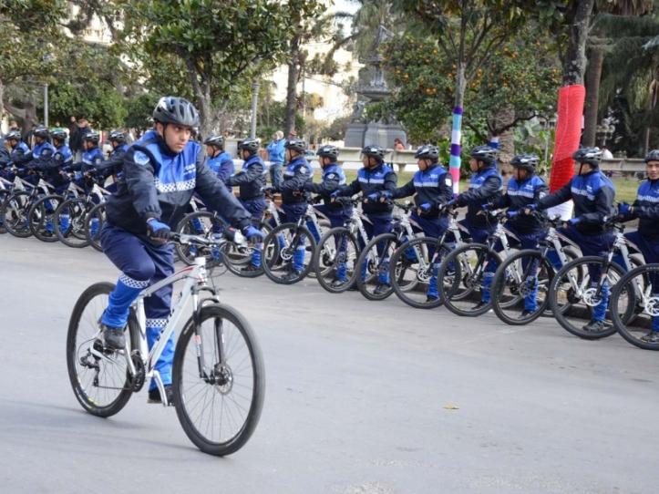 Los nuevos bicipolicías