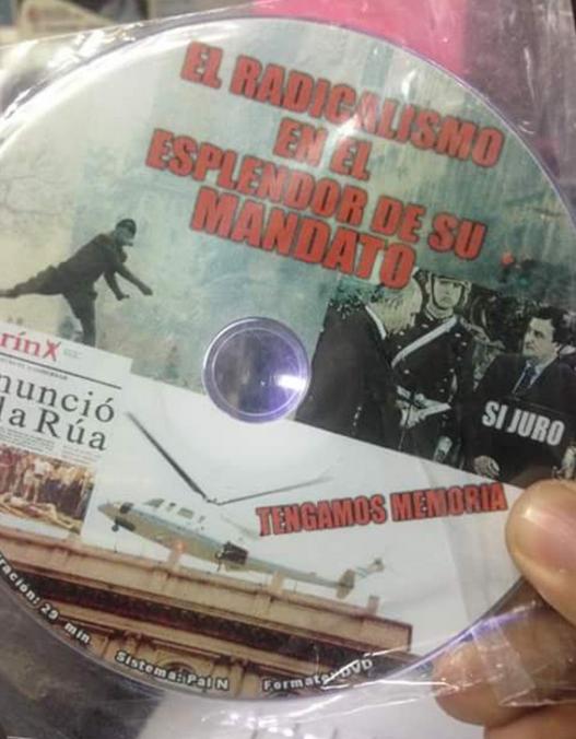 El CD que se proyecta y distribuye en colegios