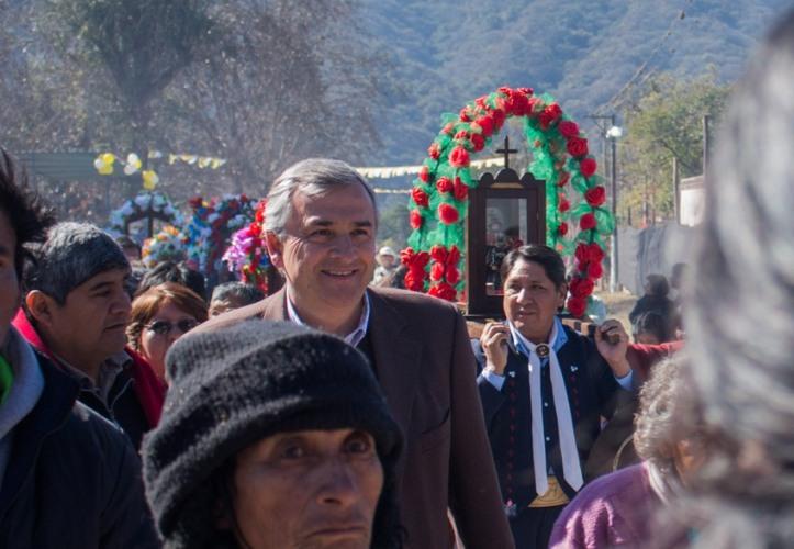 Gerardo Morales, en Yala